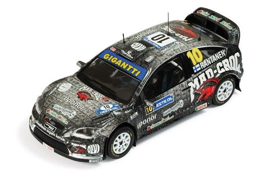 FORD Focus RS WRC 08 #10 M.Rantanen 5th Rally Finland 2009 - Die-cast…
