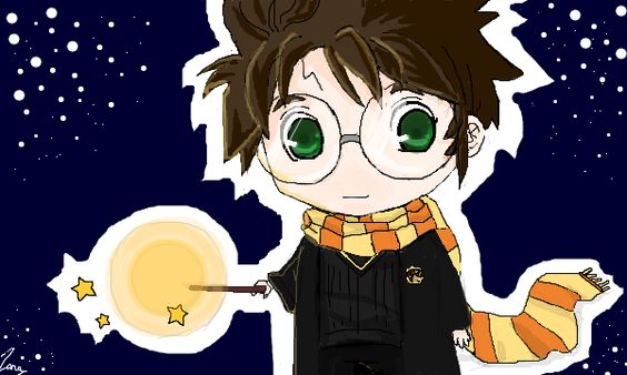 Chibi Harry Potter by Zara94 on DeviantArt