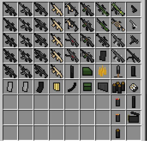 minecraft gun pack mod | Minecraft Forums