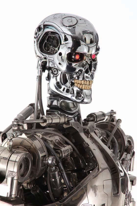 Original full-scale T-800 endoskeleton from Terminator 3: Rise of the Machines
