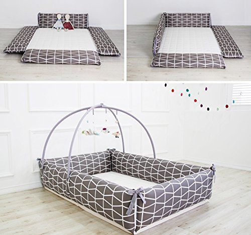 Maming Baby Bumper Bed Crib Bumper Brick Baby Bed Brick