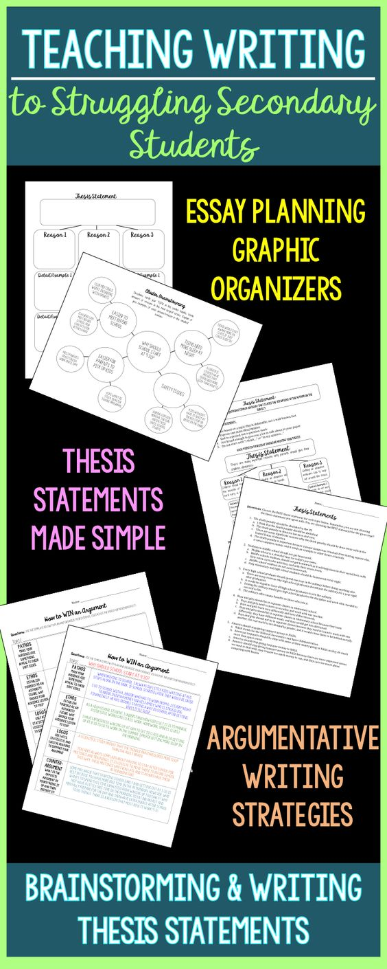 Go back to the basics! This packet was designed with older, struggling students in mind. My struggling students needed a lot of structure and guidance in addition to engaging graphic organizers and discussions. This product works with nearly any essay topic, from what the legal driving age should be to where you would travel with a time machine!