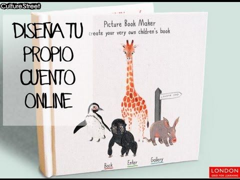 Ocio familiar: Tutorial para crear tu propio cuento online gratis. - YouTube