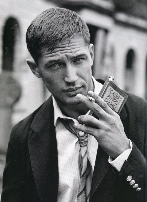 Tom Hardy  ~~  He makes smokin' look Sexy!!
