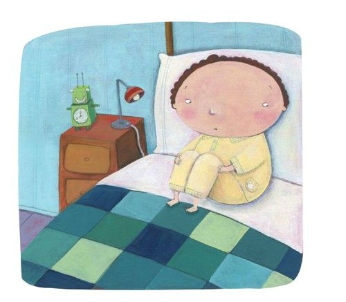 Francesca Assirelli Illustration - francesca, assirelli, francesca assirelli, acrylic, acrylic paint, paint, painted, commercial, trade, picturebook, picture book, children, boys, bed, bedtime
