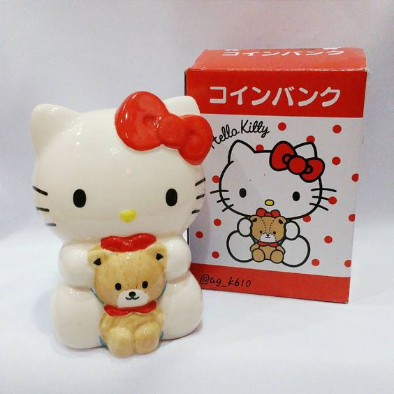 """371 Likes, 7 Comments - •••ag_k610••• (@ag_k610_hellokitty) on Instagram: """"Hello kitty & the tiny chum...something that u couldn't resist... #ag_k610collections #hellokitty…"""""""
