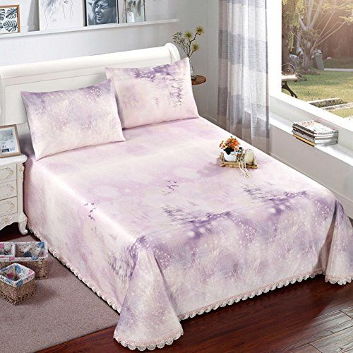Qinqin Jacquard Summer Mat Three Piece Double Breathable Hypoallergenic Cool Pad Bed Sheet Bed Skirt Air Conditioning Mat P 180x200cm Bed Sheets Bedskirt Bed
