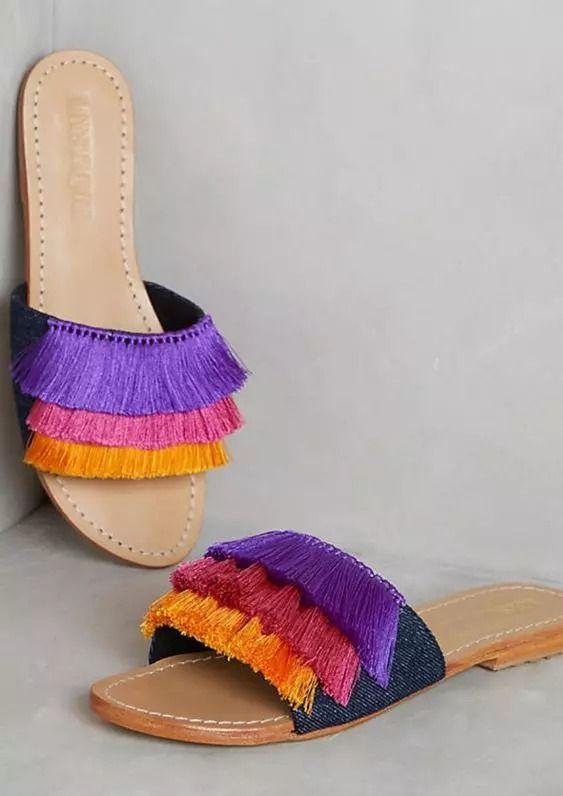 Diy sandals, Fashion sandals, Women shoes