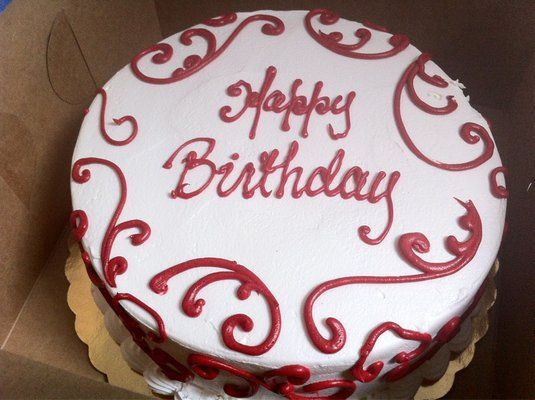 red happy birthday cakes | Red Velvet Birthday Cake | Yelp | Birthday ...