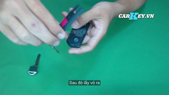 Thay vỏ chìa khóa điều khiển ô tô mazda