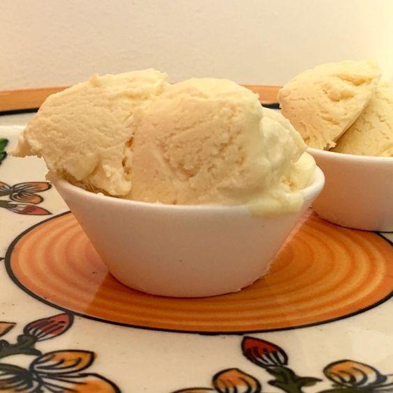 Passion fruit ice cream .. - SOULFUL BAKES - by Shano Biju