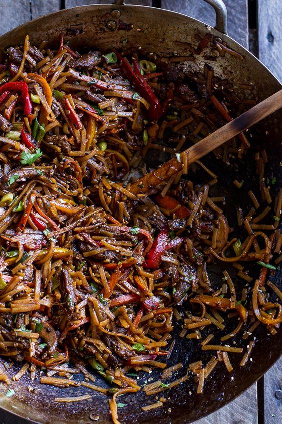 ... beef korean beef and more korean beef sesame noodles noodles beef