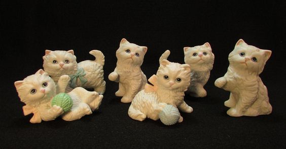 Vintage Lot 6 Homco Persian Cat Kitten Porcelain Figurines White Blue Eyes Bows Yarn #homco #homcoanimals #cat #cats #whitecats #whitecat #persiancat #persiancats #whitepersiancat #whitepersiancats #catfigurine #catfigurines #kitten #kittens #kitty #kitties #vintagecat #vintagecats #antiquecats #catantiques #catcollectibles #collectiblecats #catart #catdecor #catpottery #porcelaincat #porcelaincats #porcelainanimal #porcelainanimals