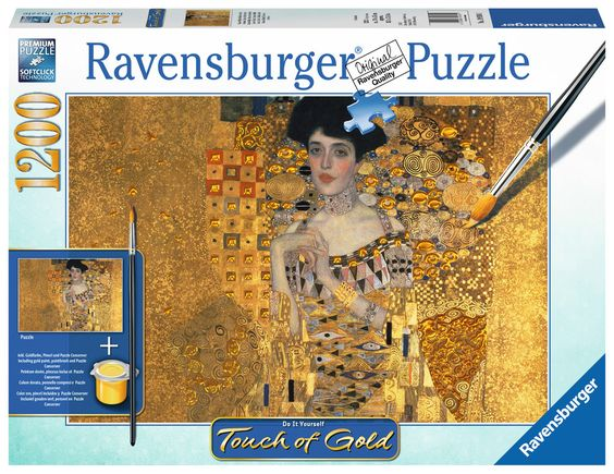Ravensburger Puzzle - Gustav Klimt: Goldene Adele - 1200 Teile