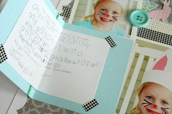 Great idea for hidden journalling