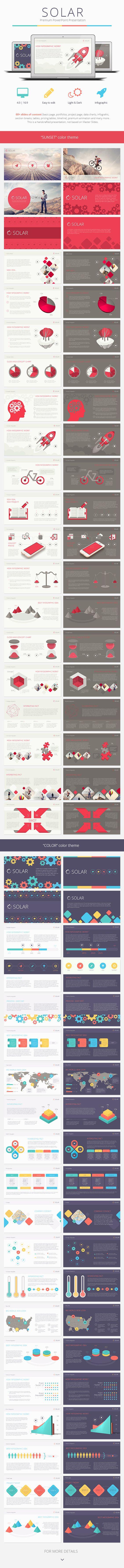 Solar PowerPoint Presentation Template PowerPoint Template / Theme / Presentation / Slides / Background / Power Point #powerpoint #template #theme