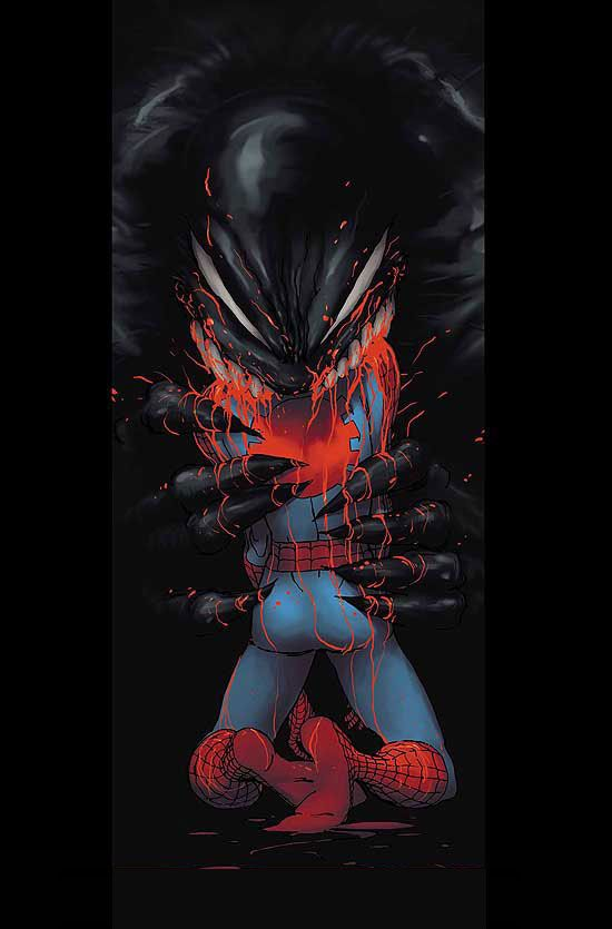 "#Spiderman #Fan #Art. (Spider-Man ""Reign"" Vol.1 #4 Cover) By: Kaare Andrews. (THE * 5 * STÅR * ÅWARD * OF: * AW YEAH, IT'S MAJOR ÅWESOMENESS!!!™)[THANK Ü 4 PINNING<·><]<©>"