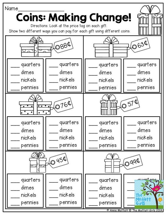 It's just an image of Exhilarating Free Printable Making Change Worksheets