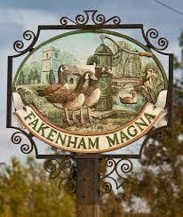 English village signs, Norfolk