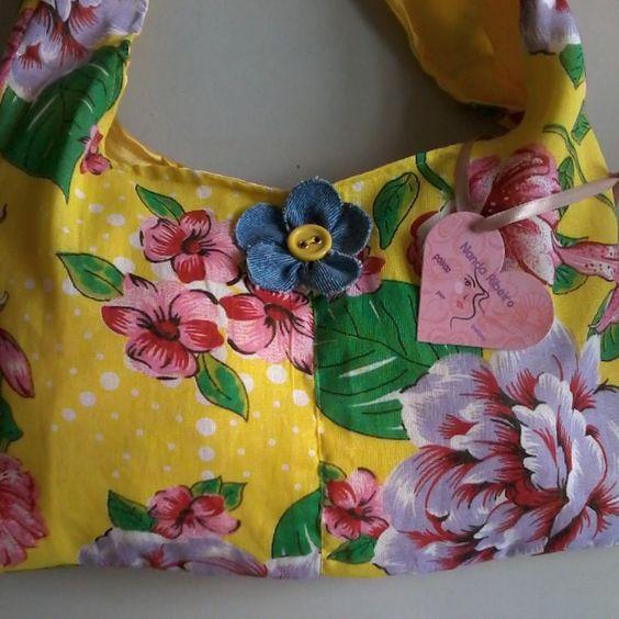 bolsa de chita ,modelo perfeito para o verão