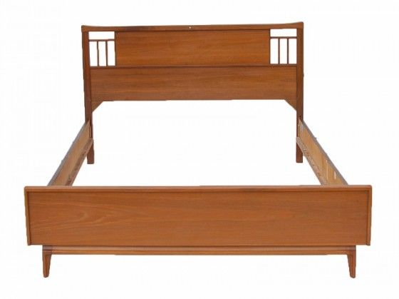 Mid-century Modern Bed Frame