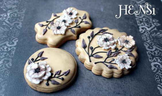 Floral cookies | Cookie Connection