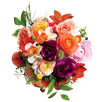 Brides Magazine: Wedding Bouquets for All Budgets : Wedding Flowers Gallery