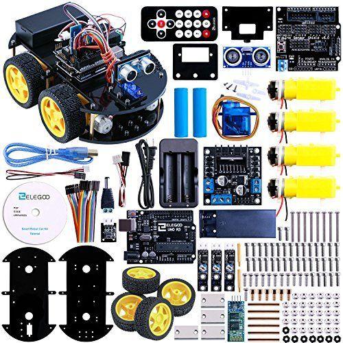 Elegoo UNO Project Super Starter Kit with Tutorial, 5V Relay, UNO ...