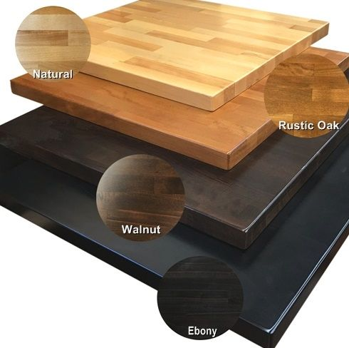 02 Beech Wood Restaurant Table Tops Quick Ship With Images Butcher Block Table Tops Butcher Block Tables Wood Table Top