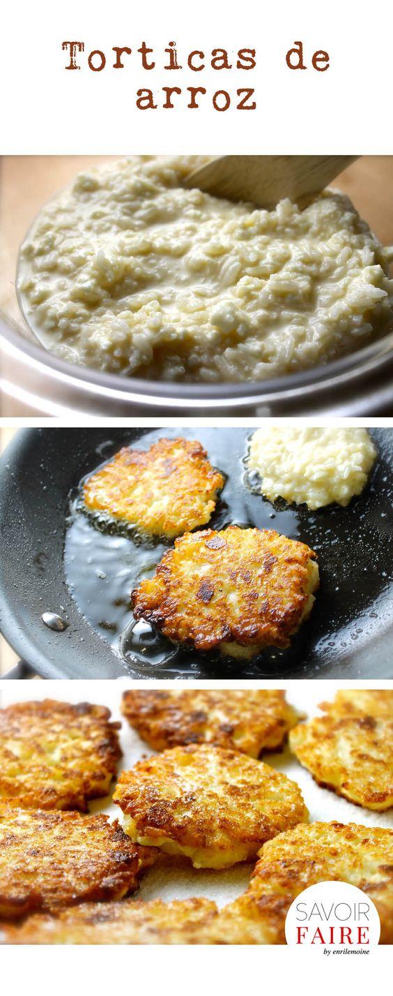 Estas torticas de arroz con queso son perfectas para resolver tu cena