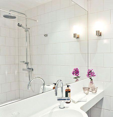 Badrum badrum litet : litet badrum lösning - Google Search | Bathroom and laundry ...