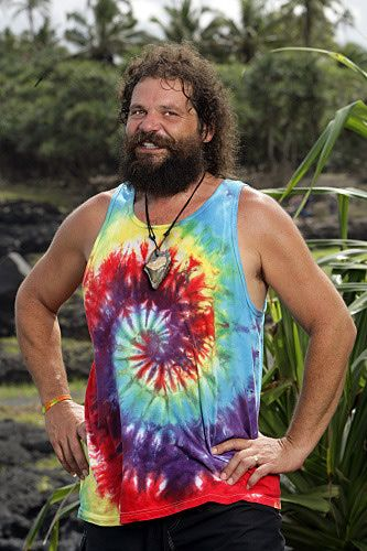 Rupert Boneham. Four times he played. He won the million as the player of the season on Survivor: All Stars. But somehow I still feel he needs one more chance. This guy is sole survivor material. LOVE Him!!!