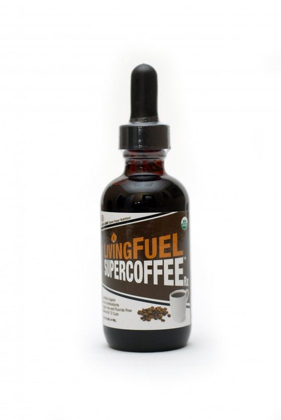 LivingFuel SuperCoffee™ Rx Caffeinated