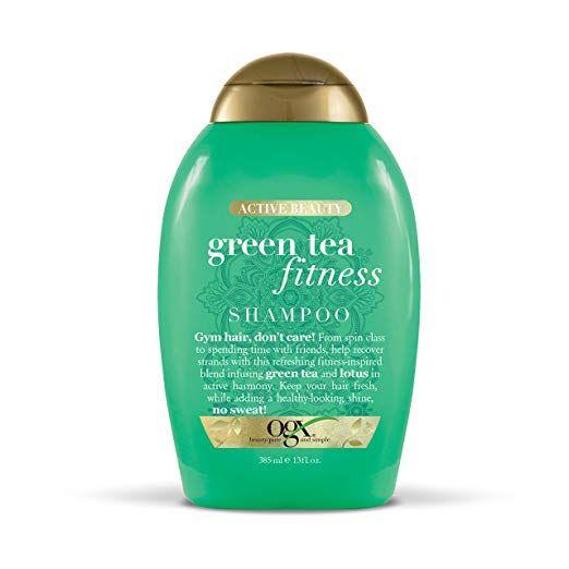 Amazon Com Ogx Active Beauty Green Tea Fitness Shampoo For Daily