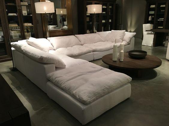 Pinterest the world s catalog of ideas for Comfortable family sofa