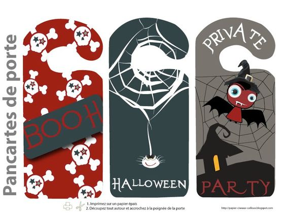 Pinterest • The world's catalog of ideas ~ 045651_Halloween Door Signs Printable