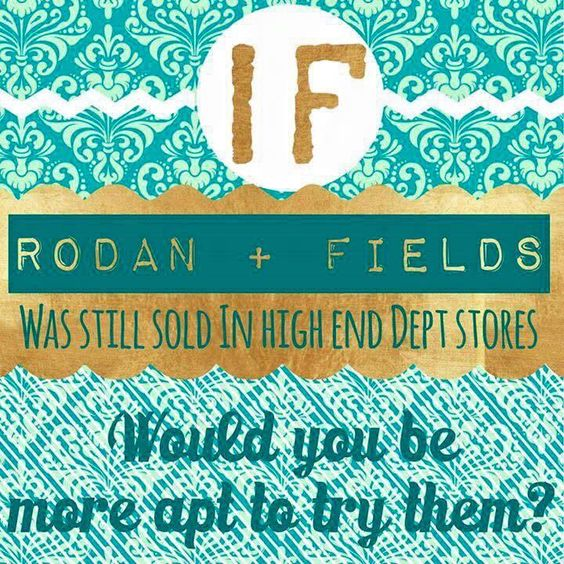 Answer honestly, if you will......if Rodan+Fields products were sold in stores like #Ulta, #Dillards, #Belk, #Sephora, #Nordstroms, would you be more apt to try them??? And, while we mentioned the stores above, Rodan+Fields WAS in department stores!! They weren't created for the direct-selling channel! These products sat next to #Lancome, #EsteeLauder, and #Clinique!!! There is a 60-day money back guarantee available to you as well. There's no risk and no secret intentions. Link in bio.