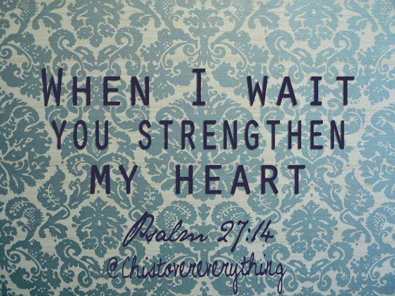 psalms i wait and jesus quotes on pinterest