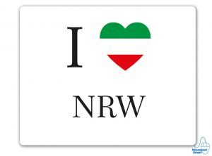 I love NRW Mousepad
