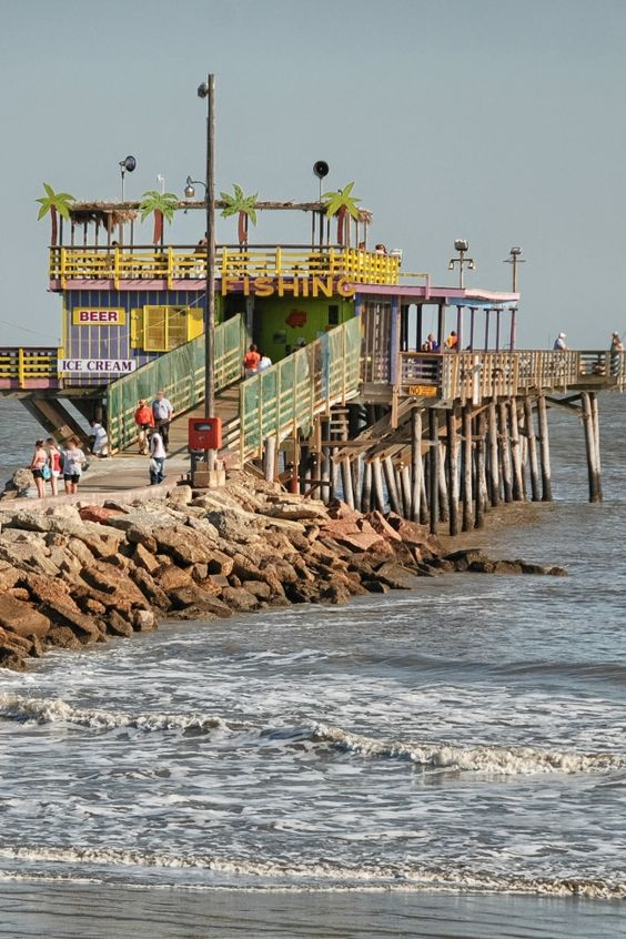 Galveston things to do and things to on pinterest for Places to go fishing in houston