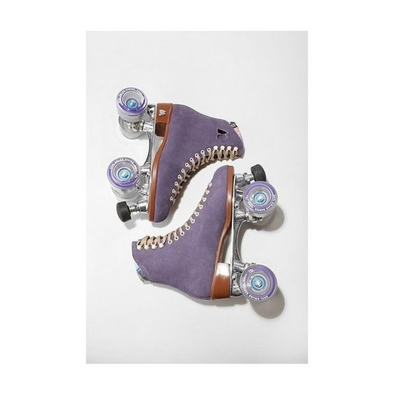 Moxi Lolly Roller Skates - Purple - 10 M ❤ liked on Polyvore