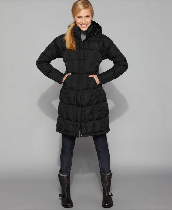 The North Face Coat, Metropolis Puffer Hooded Parka - Womens Coats - Macy's