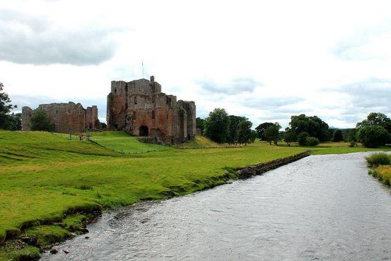 Landscape. Scenery. Architecture. Castle ruin