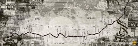 ROUTE 66 - route map - Click image to find more Travel Pinterest pins