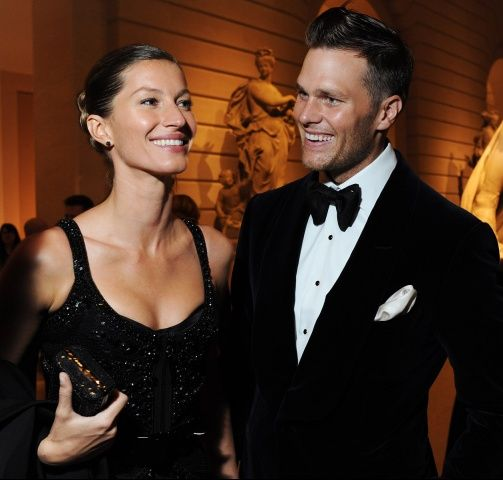 Gisele and Tom at the Met Ball 2012 ~