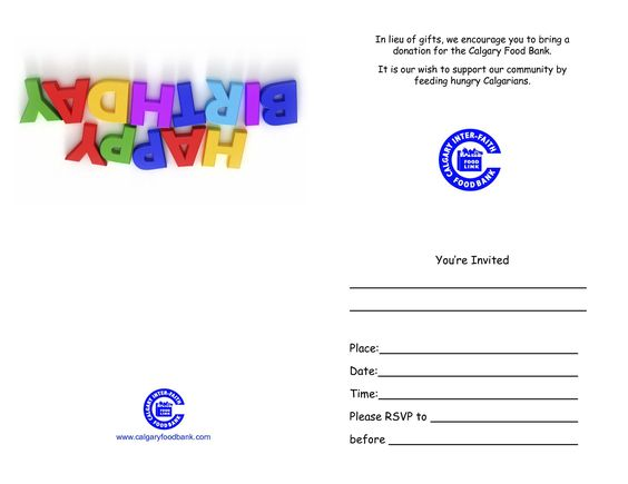 samplehappybirthdayinvitationcards – Sample of Birthday Card