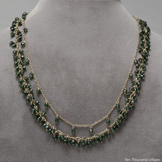 Green Dreams Necklace