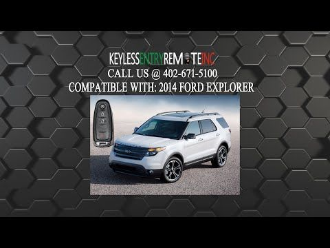 How To Change A 2011 2015 Ford Explorer Key Fob Battery Key