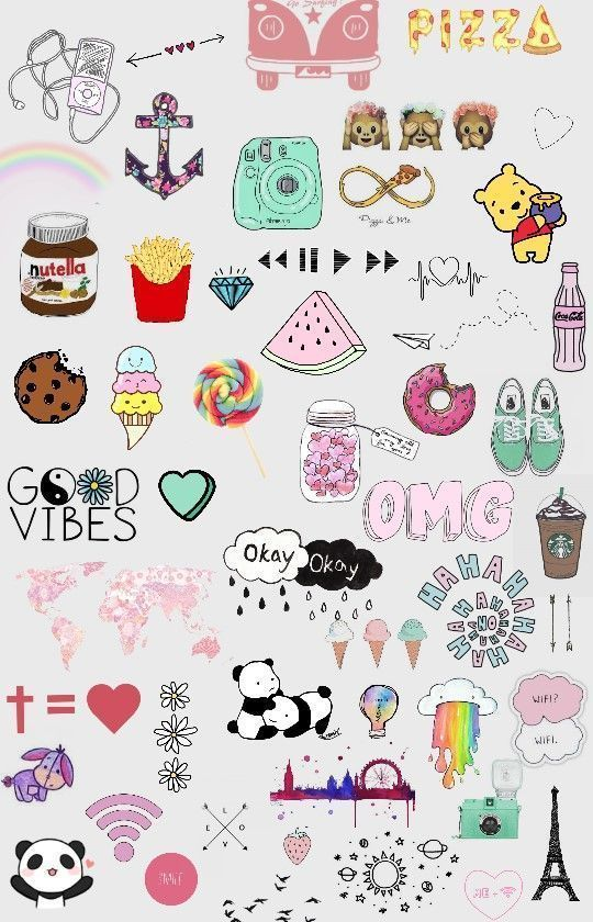 Iphone Wallpaper Iphone Wallpaper Kids Iphonewallpaper Iphonewallpaperpink Iphonewallpaperr Iphone Tumblr Stickers Aesthetic Stickers Cute Wallpapers