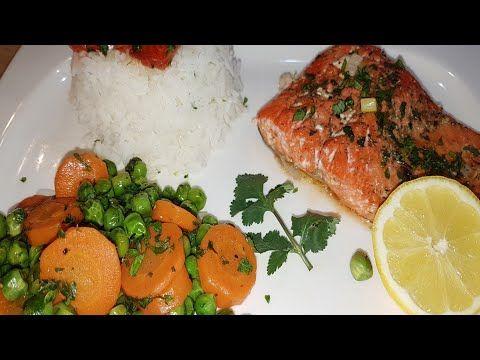 Filet De Saumon Au Four سمك السلمون في الفرن Youtube Cuisine Filet Make It Yourself